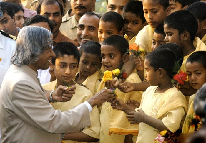 5 Famous Photos of People\'s President APJ Abdul Kalam