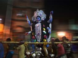 Photo : Kali Puja Preparations Begin in Kolkata