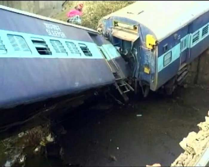 In Pics: Sealdah-Ajmer Express Derails Near Kanpur, Many Injured
