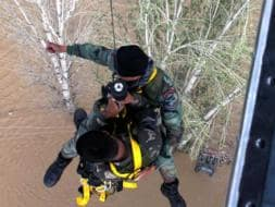Photo : Kashmir floods: Rescue Ops to be Intensified as Lakhs Wait for Help