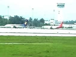 Photo : Kochi airport resumes operations after being shut for over 24 hours