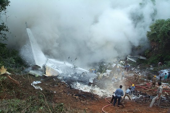 First Pics: Mangalore Air Tragedy