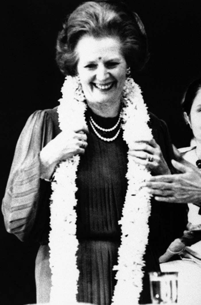 Margaret Thatcher\'s India connection