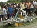 Photo : Mig-27 crashes in West Bengal's Jalpaiguri