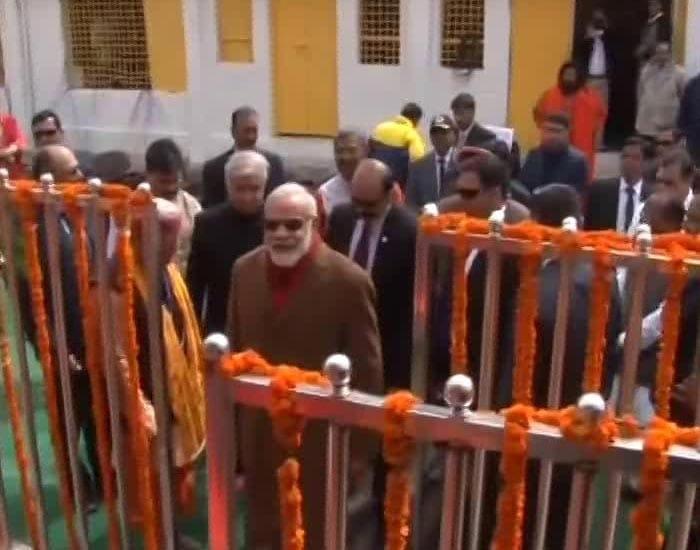 india modi uttarakhand visit offers prayers kedarnath temple