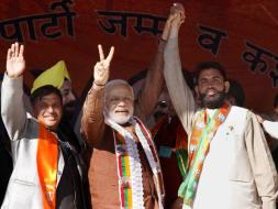 Photo : PM Modi Addresses Election Rallies in Poll-Bound Jammu and Kashmir
