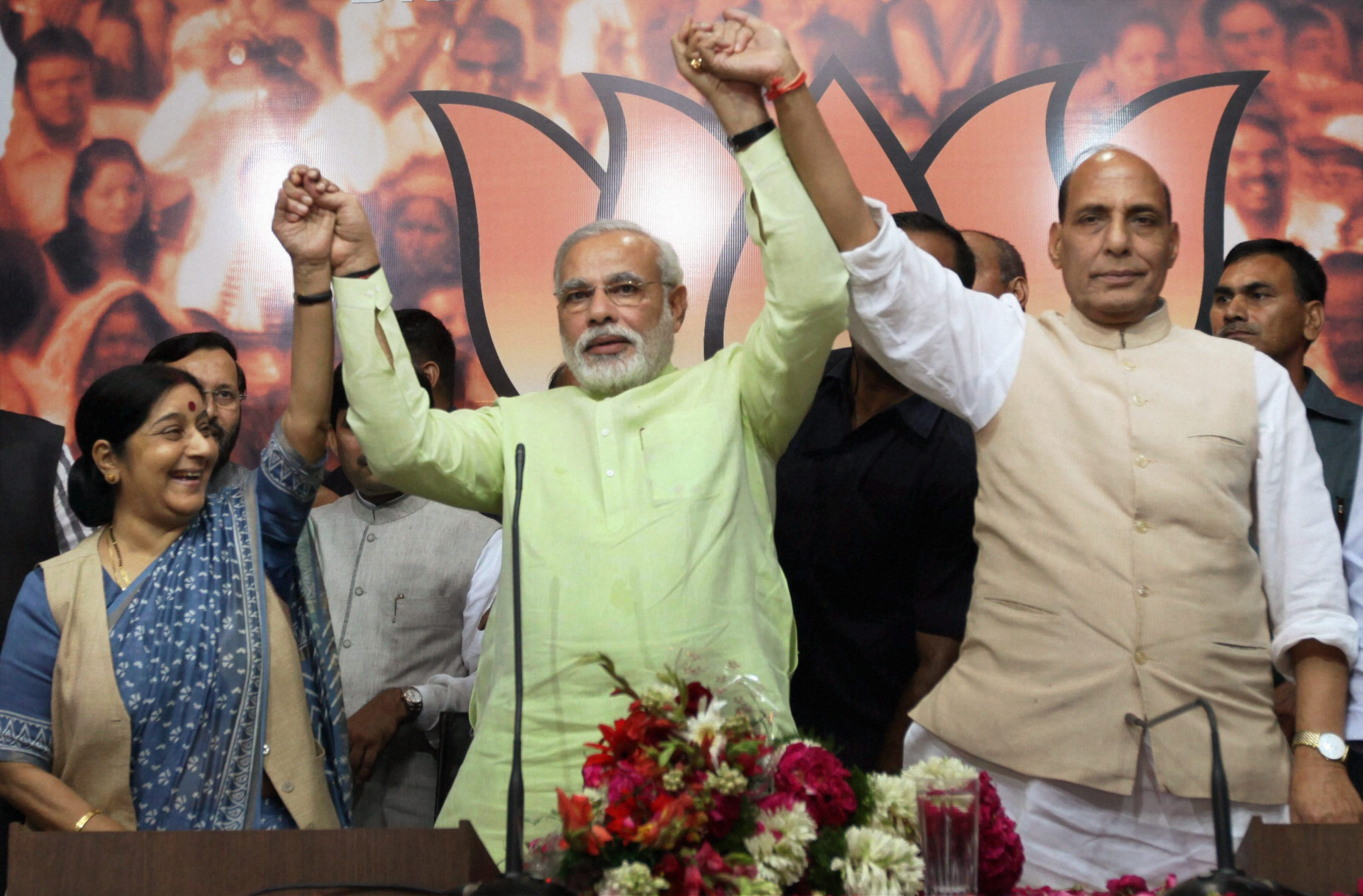 Narendra Modi is BJP\'s prime ministerial candidate for 2014 polls
