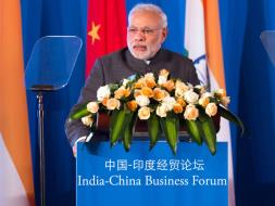 Photo : PM Modi Meets Top CEOs, Addresses India-China Business Forum in Shanghai
