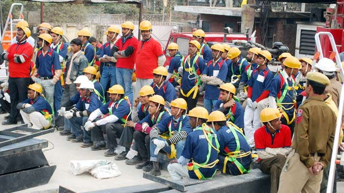 Chandigarh starts work on a 10-storey building in 48 hours