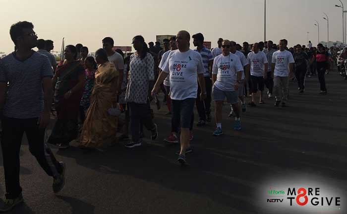 Walkathon: Thousands Gather From Across India To Support Organ Donation