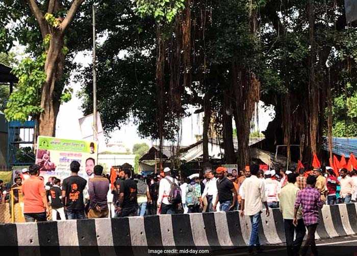 This is the 58th - and the largest - protest march of the Maratha community, exactly a year after the first march was held in Aurangabad, the organisers told reporters (Mid-Day)