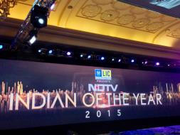 Photo : NDTV Indian Of The Year 2015: Prepping for the Show