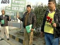 Photo : In Pics: Odd Even Formula Takes Off In Delhi