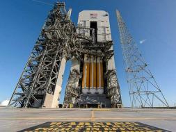 Photo : Take 2: NASA Launches Unmanned Space Capsule Orion to Mars