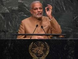 Photo : 6 pictures: Prime Minister Narendra Modi at United Nations Summit