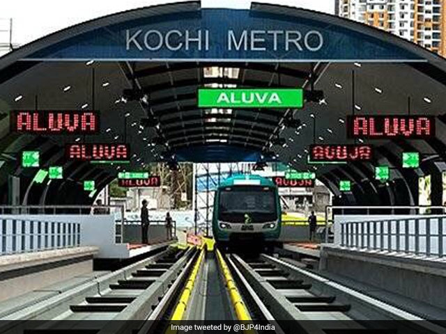 5 Pics: Queen Of Arabian Sea, Kochi Gets Its First Metro