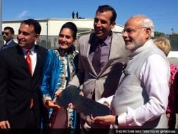 Photo : PM Modi Begins West Coast Visit at San Jose