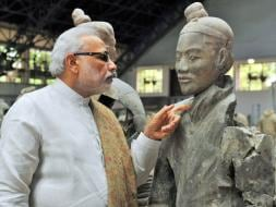 Photo : Best Moments of PM Narendra Modi's First Day in China