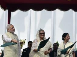 Photo : PM Modi in Dhaka: Bus Services Flagged Off, Land Boundary Agreement Signed on Day 1