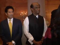 Photo : Rajinikanth and Sachin: Mutual fan club