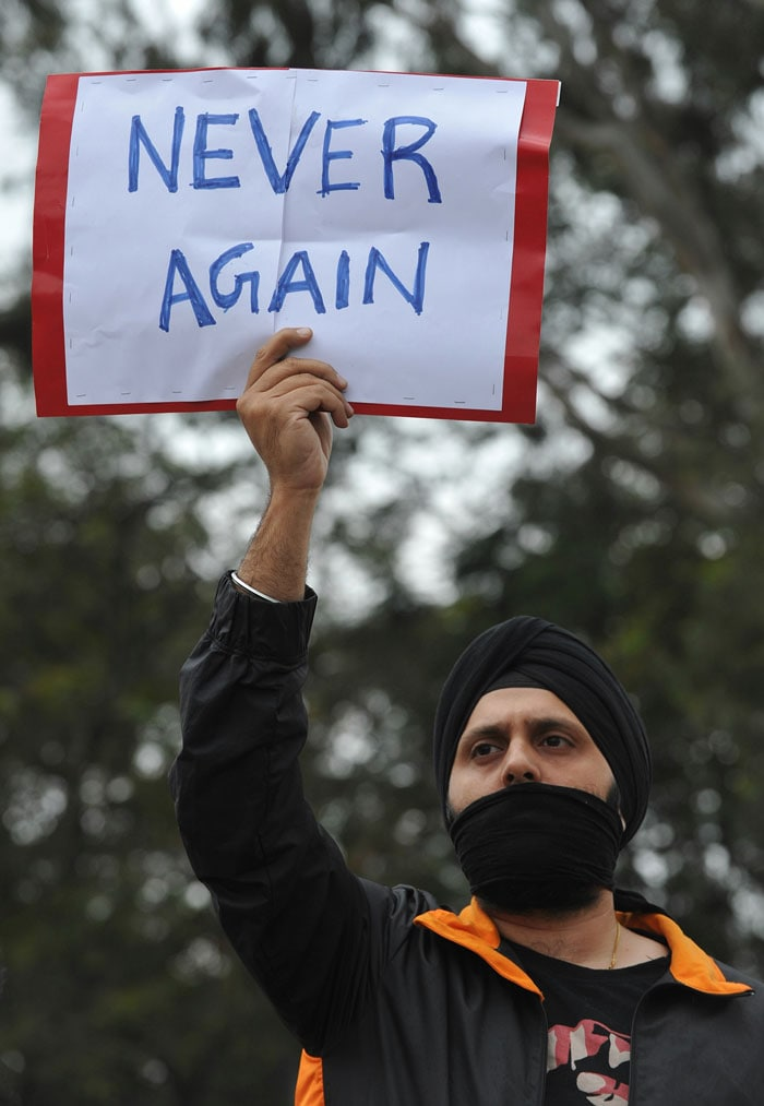 Never again: India demands change