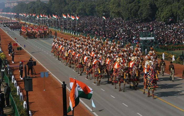 India celebrates 64th Republic Day