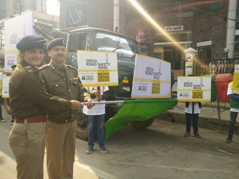 In Pics: How Guwahati City Police Raised Awareness About Road Safety