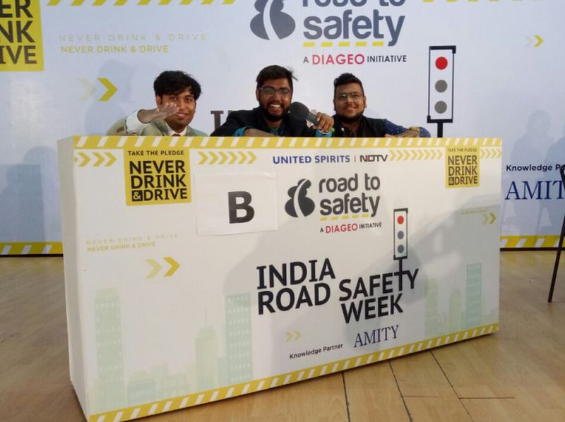 Delhiites Celebrated Road Safety Week With A Quiz Competition