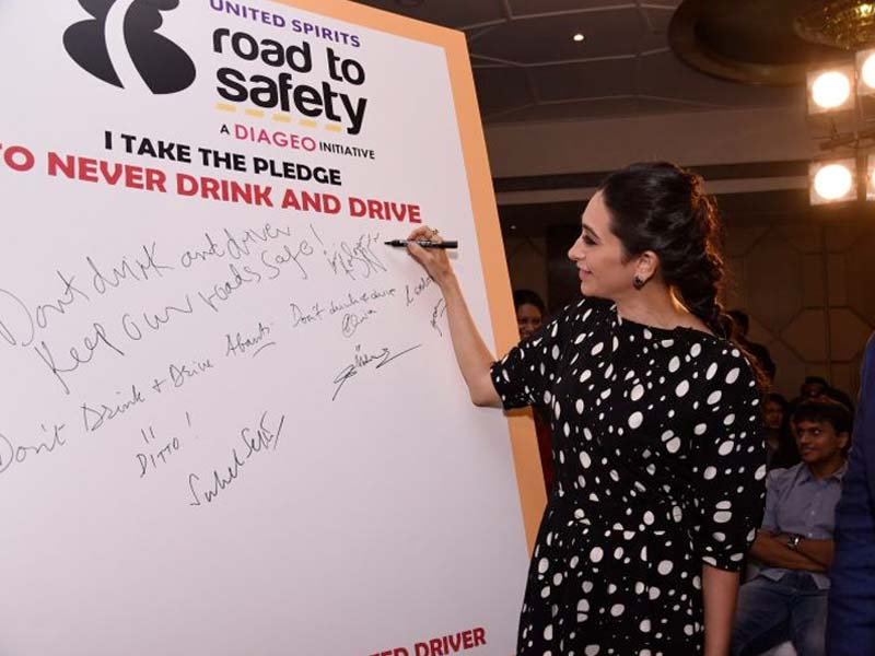 Karisma Kapoor Voices Support For Road To Safety