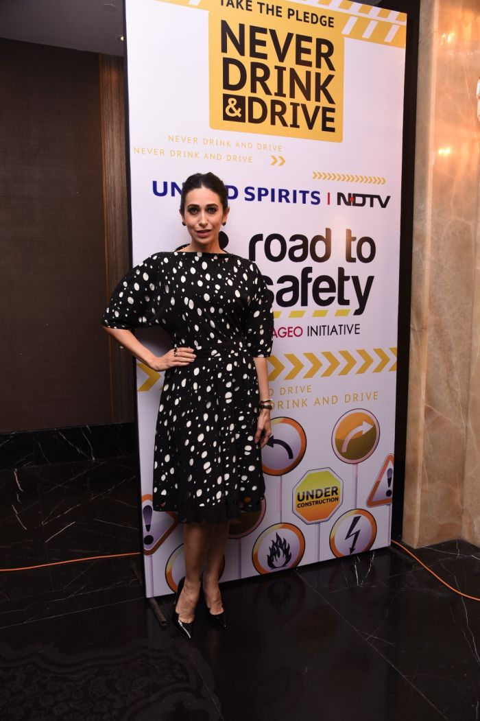 Karisma Kapoor Voices Support For Road To Safety Campaign