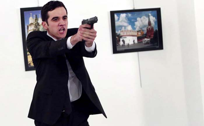 In Pics: The Shocking Shooting Of Russian Ambassador To Turkey