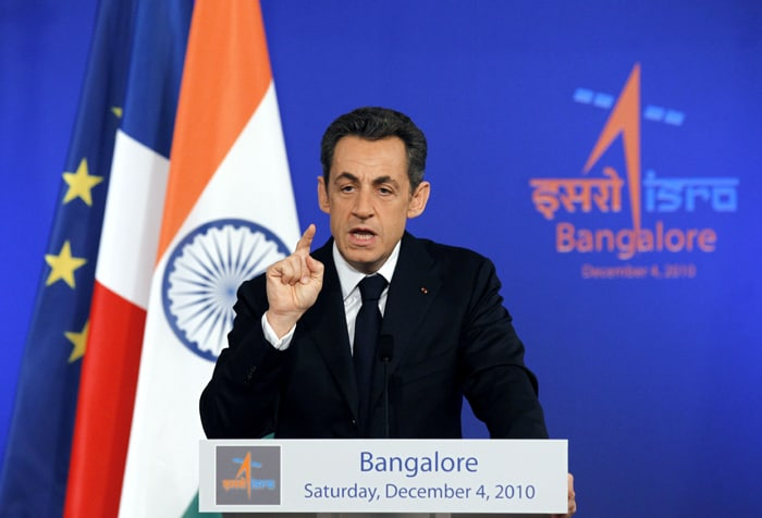 2a Bonjour Sarkozy: French President on India visit image gallery