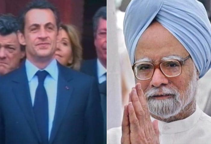700 grid Bonjour Sarkozy: French President on India visit image gallery