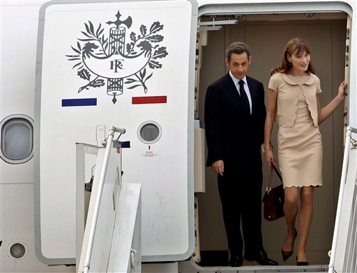 sarkozy ap new Bonjour Sarkozy: French President on India visit image gallery