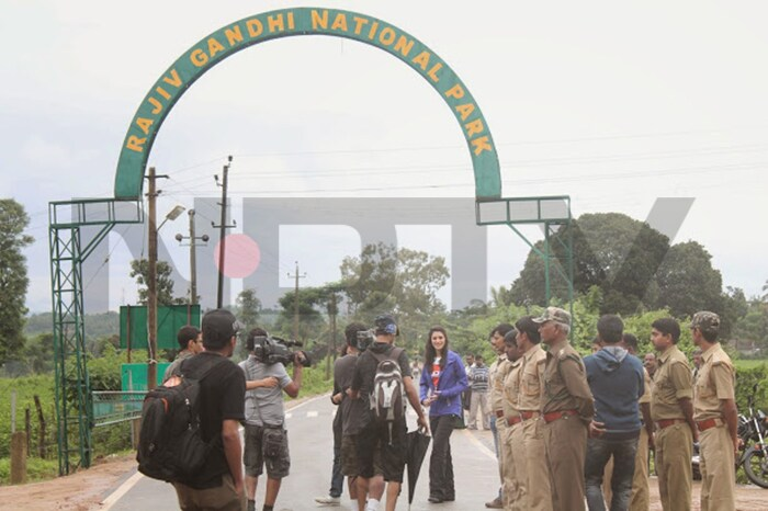 Save Our Tigers: Nargis Fakhri at Nagarhole National Park
