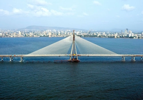 Bridge across the sea