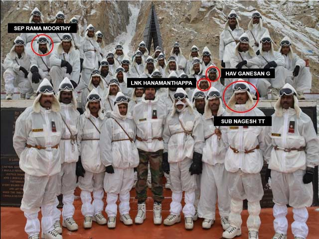 Lost To Siachen Snow, 9 Indian Bravehearts