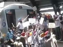 Photo : Protests in Delhi over Sajjan Kumar's acquittal in a 1984 anti-Sikh riots case