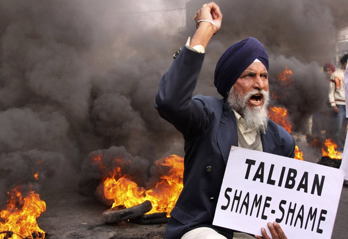 Taliban behead Sikh, protests all over