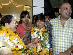 Photo : After horror in Uttarakhand, a sigh of relief for these rescued people