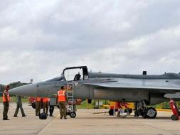 Photo : Tejas Light Combat Aircraft Joins The Air Force