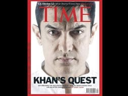 Photo : Aamir Khan on the cover of Time magazine