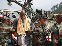 Photo : Uttarakhand: Army's relentless rescue efforts in Jungle Chatti