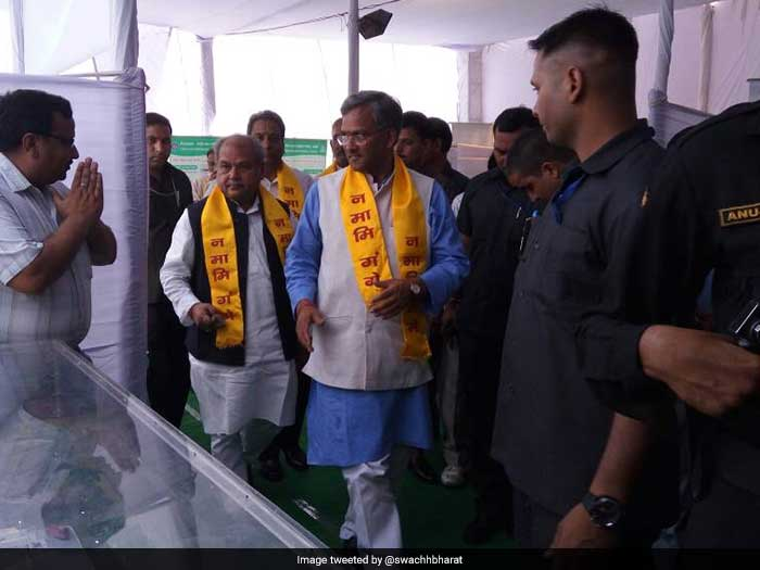 Chief Minister Trivendra S Rawat dedicated this success to the people and their active participation to work towards behavioral change towards swachhta.