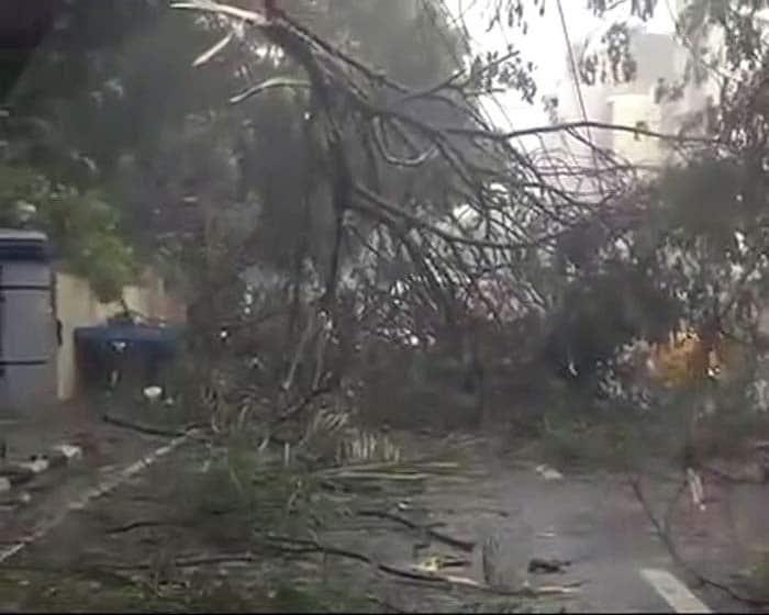In Pics: Cyclone Vardah Hits Near Chennai, Wreaks Havoc