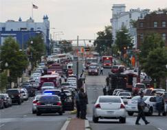 Photo : Shooting at Washington Navy Yard, several killed