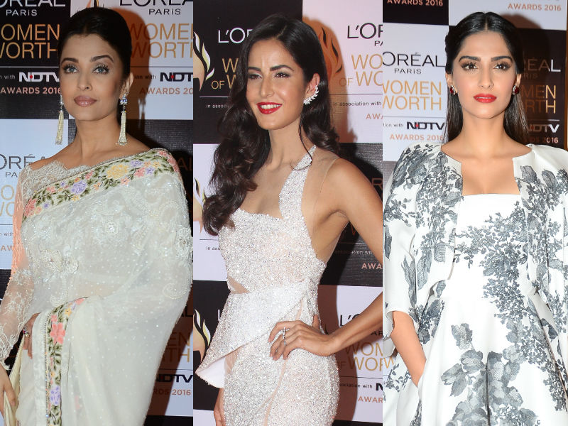 At the Women of Worth Awards With Aishwarya, Katrina, Sonam