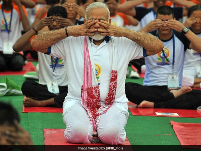 International Yoga Day 2017: PM Modi Leads The Celebrations In Lucknow