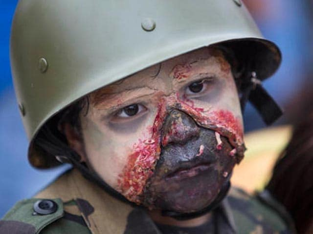 'Zombies' Are Out On The Streets Of Mexico
