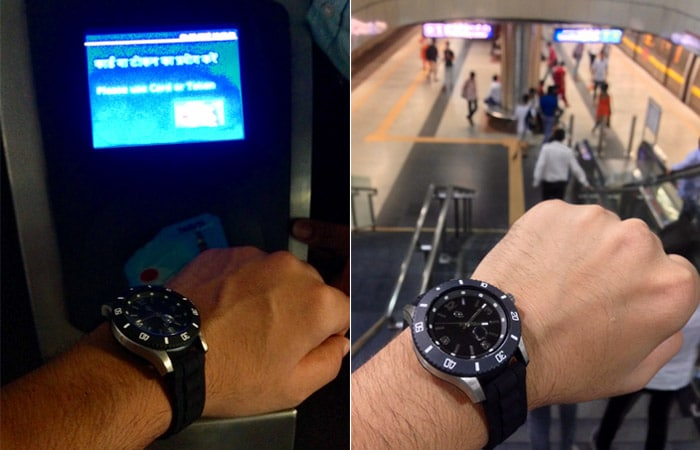 In Pics: Smart Watch That Lets You Pay For A Delhi Metro Ride